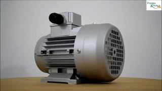 Présentation d'un moteur Electrique Triphasé 380v B3