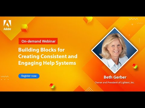 Building Blocks for Creating Consistent and Engaging Help Systems
