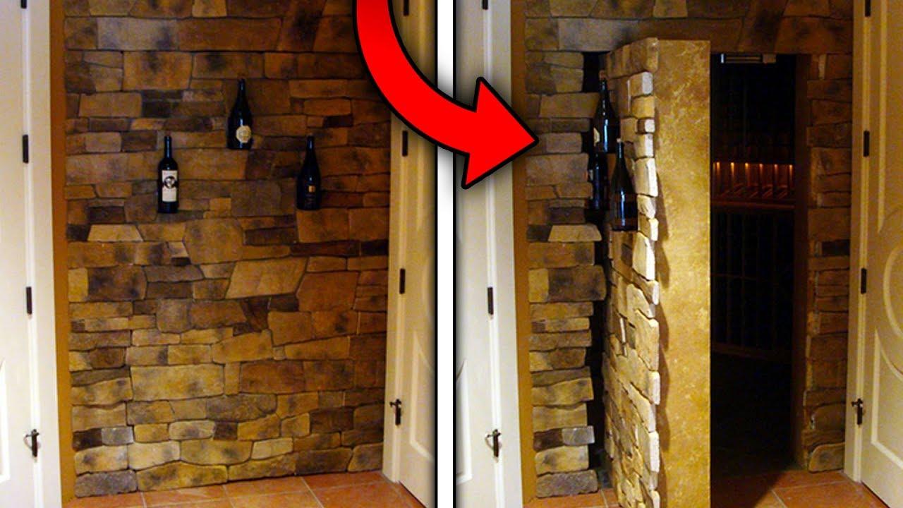 Top 10 Strangest Secret Rooms Found In Homes (Creepiest