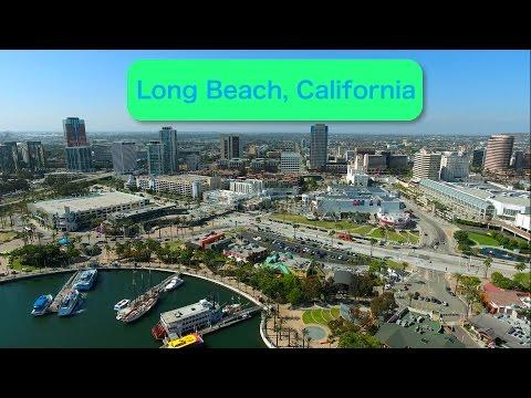 DJI Phantom 4 Long Beach Trip [4K]