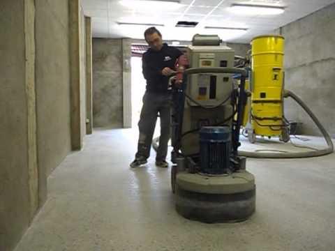 como pulir el cemento