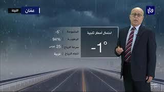 النشرة الجوية الأردنية من رؤيا 10-2-2020 | Jordan Weather