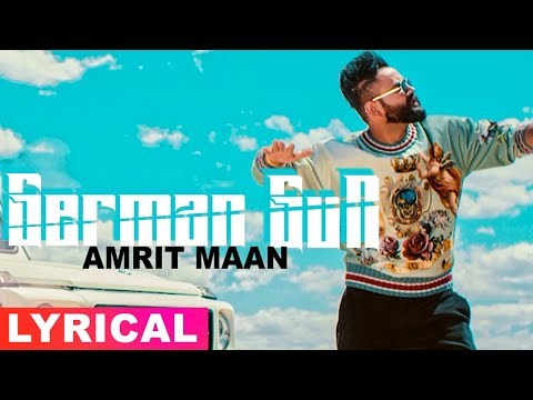 Amrit Maan | German Gun (Lyrical Video) | Ft DJ Flow | Latest Punjabi Songs 2019 | Speed Records