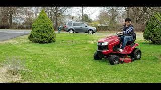 잔디깎기- 트랙터 2020-3-27