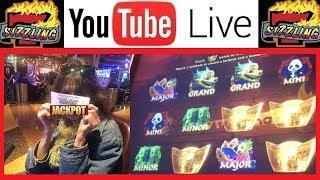 Mom's SHOT at the GRAND JACKPOT! LIVE BONUS HITS! Sizzling Slot Jackpots Casino Videos