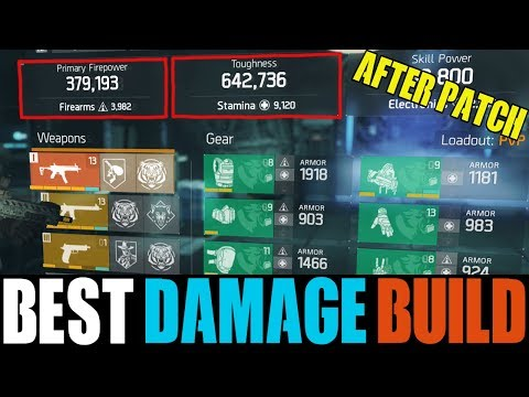 THE DIVISION - HOW TO MAKE THE PERFECT DAMAGE & DPS BUILD | THE ONLY BUILD YOU NEED IN 1.8.1