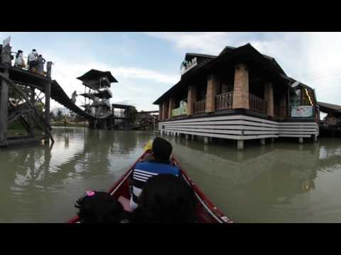 Pattaya Floating Market 360° 4K Tour