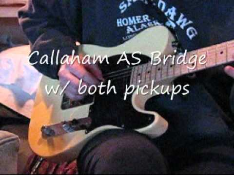 Callaham American Standard Bridge Comparison