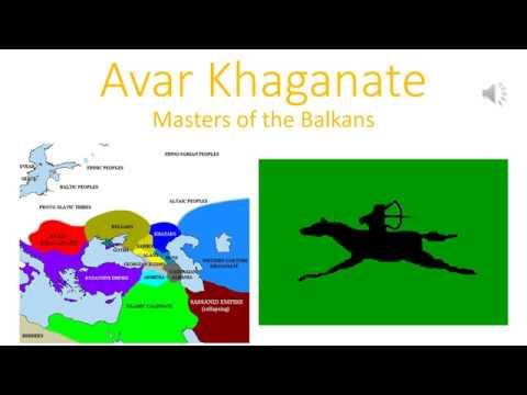 The Avar Khaganate
