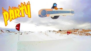 PARTY AT CARDRONA - Snowboarding