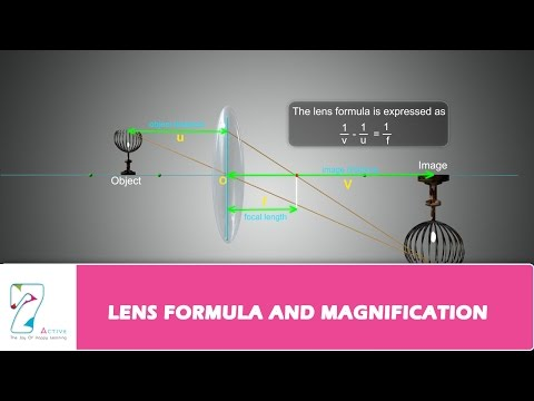 LENS FORMULA AND MAGNIFICATION