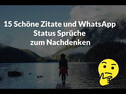 Sprüche whatsapp schöne Whatsapp Sprüche: