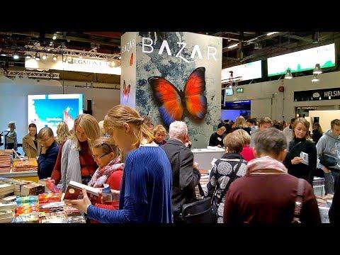 Helsinki Book Fair 2018 Video Tour :: Finland
