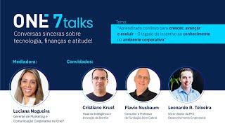 Legado do conhecimento no ambiente corporativo | One7talks | 2ª ed. (18.01.21)
