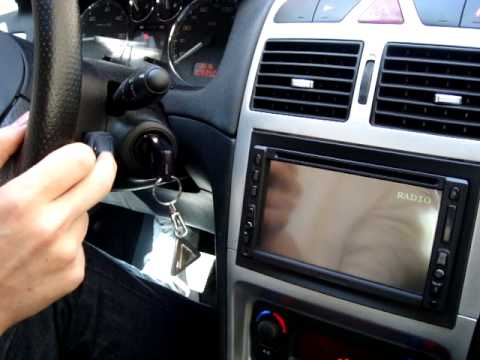 Linellae 6558g Peugeot 307 Dvd Control Youtube