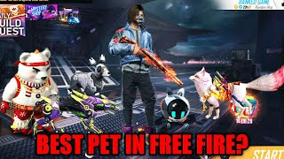 Top 3 Best Pet For Tournaments in Free Fire | Hindi Tips and Tricks