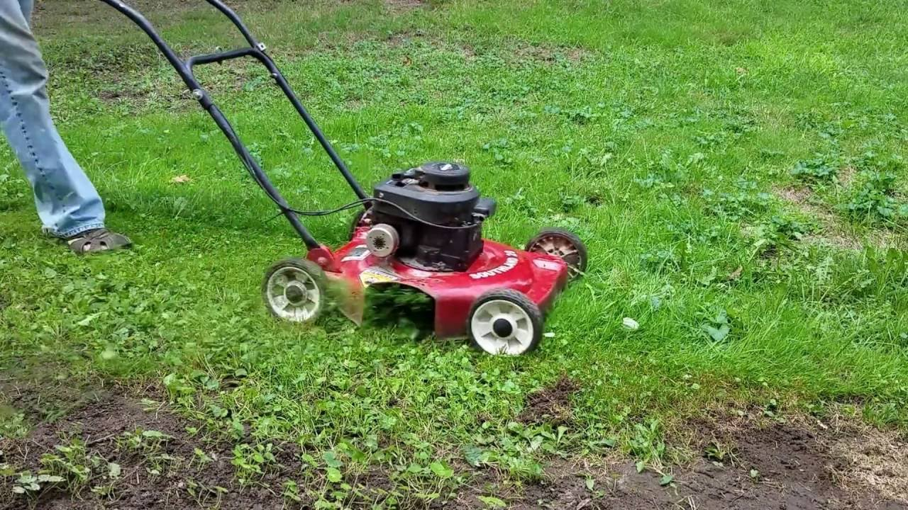 Southland 20 Push Mower Running And Cutting