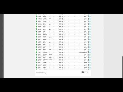 Video 2   H2Y Resi Lists