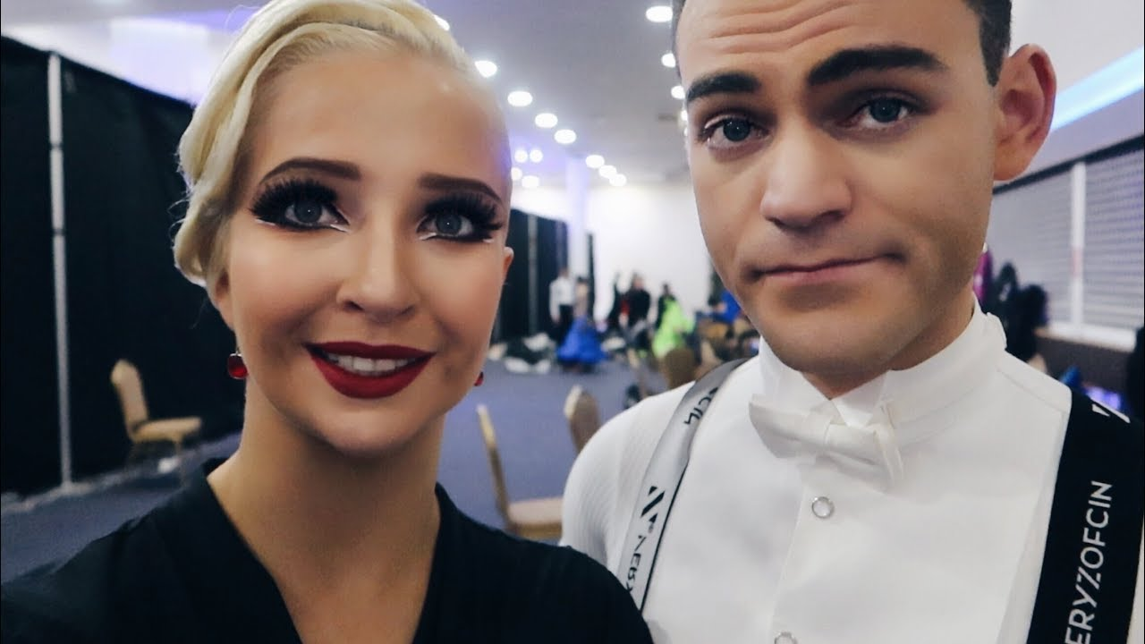 Vlogging a ballroom dancing competition in the UK | IDTA Midlands Championships 2019