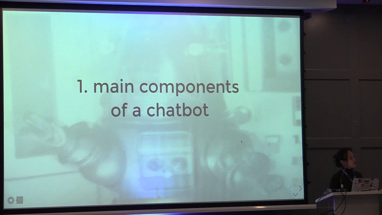 Image from PyCon Ireland 2019 - I am telling you 3 things about Chatbot - Cheuk Ting Ho