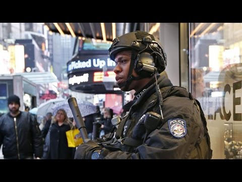 Inside NYPD's massive security effort for New Year's Eve