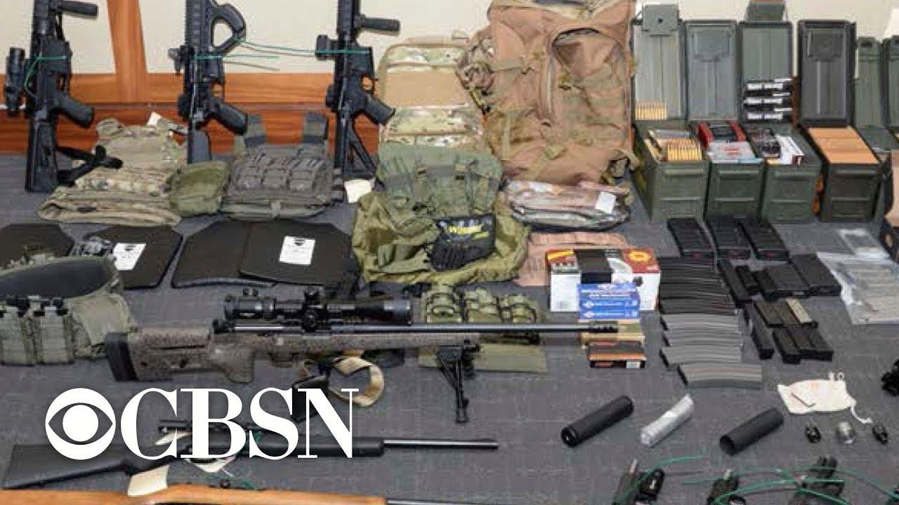 Coast Guard lieutenant is accused domestic terrorist