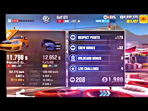 CSR2 T1 best 11 798sec best tuning