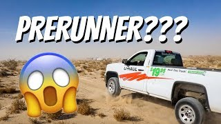Mobbing A Uhaul Rental Truck Through The Desert *KING OF THE HAMMERS 2018*