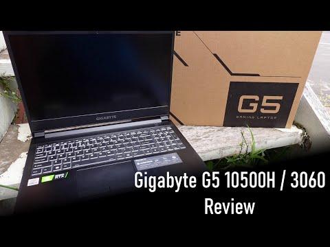 Gigabyte G5 Laptop Review (i5 10500H / RTX 3060)
