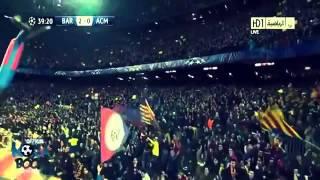Fc Barcelona Vs Ac Milán Alfredo Martínez