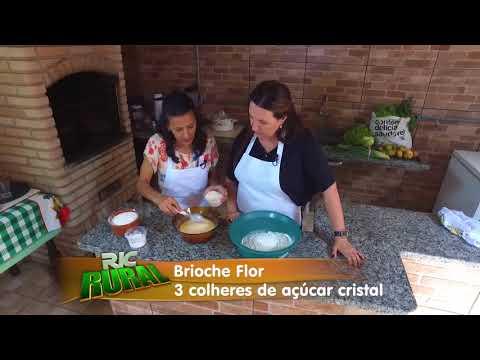 Aprenda a fazer a receita do Brioche Flor