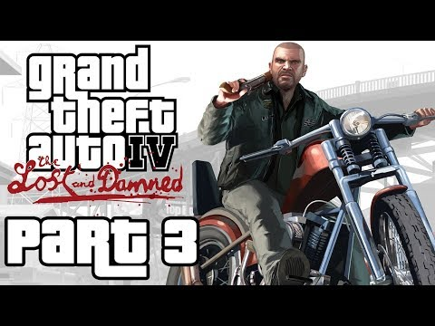 "Grand Theft Auto 4: The Lost And Damned - Let's Play - Part 3 - ""Prison Bus Theft, A Deal Gone Sour"""