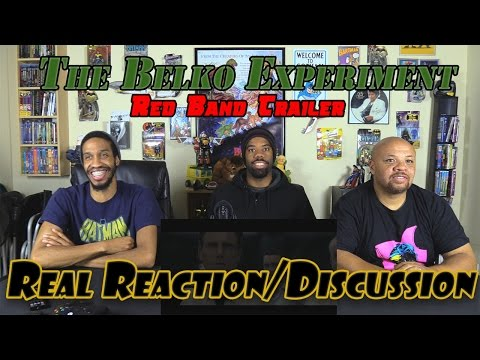 The Belko Experiment Red Band Trailer 1....Real Reaction/Discussion