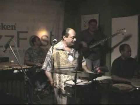 """Pablo """"El Indio""""Rosario & Band @ Cafe Del la Plaza"""