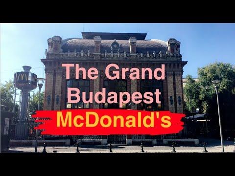 The Grand Budapest McDonald's