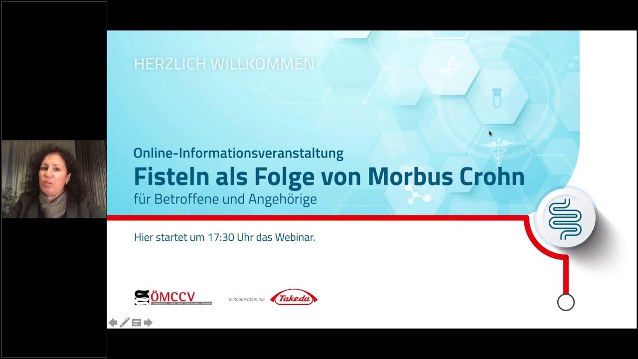 """Video zur Online-Infoveranstaltung """"Fisteln bei Morbus Crohn"""""""
