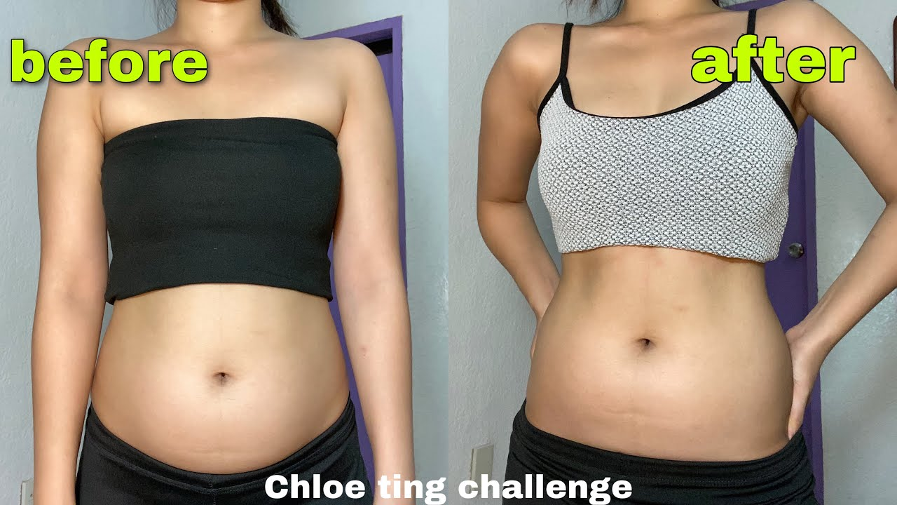 I tried CHLOE TING two weeks ab shred workout *it worked ...