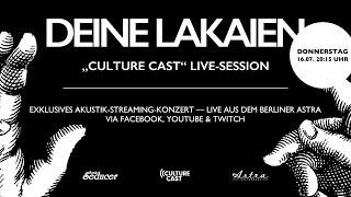 Culture Cast – Deine Lakaien - Exklusives Akustik Set [Live]