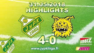 JyPK - Ilves 31.05.2018 Highlights!