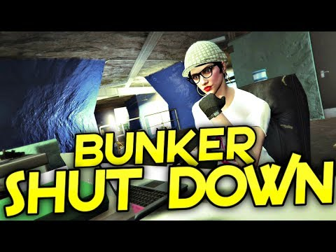 SHUT DOWN YOUR BUNKER - GTA 5 GUN RUNNING DLC