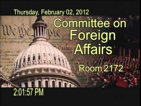 Subcommittee Hearing: U.S. Policy Toward Post-Election Democ