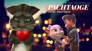 Pachtaoge: Arijit Singh // Vicky Kaushal Song Choreography By Talking Tom and Angela 😍🔥🔥