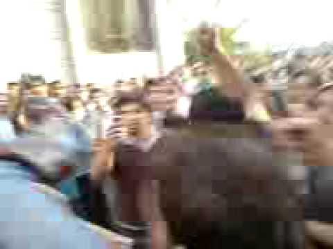 Clash in Azadi Square