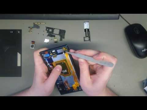 Sony Xperia XZ Premium G8141 Disassembly