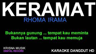 KERAMAT KARAOKE DANGDUT HD AUDIO