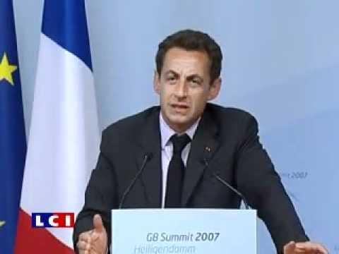 Sarkozy bourré au G8