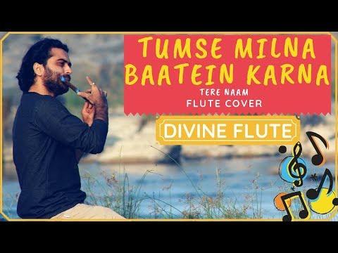 Tumse Milna Baatein Karna / Flute cover / Karan Thakkar / Tere Naam / Divine flute