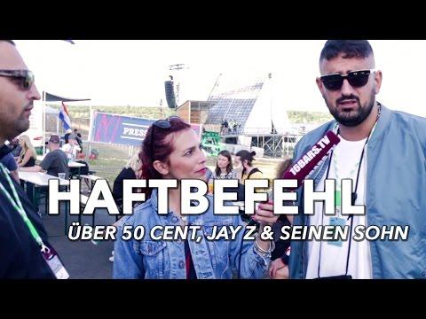 Haftbefehl über 50 Cent, Jay Z & seinen Sohn #splash19 (16BARS.TV)