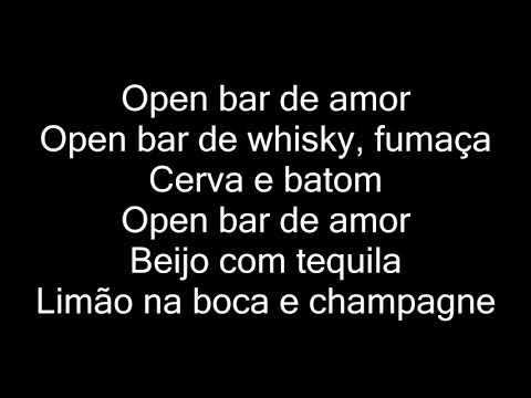 Dan Lellis - Open Bar (letra)