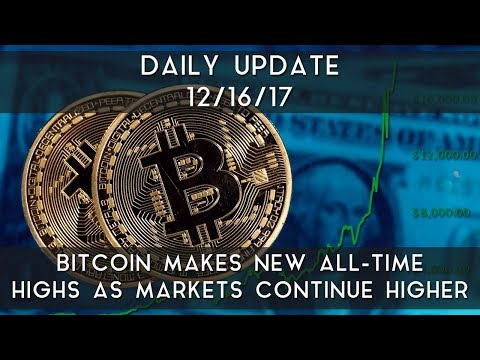 Daily Update (12/16/17) | Bitcoin makes all-time highs as markets continue higher